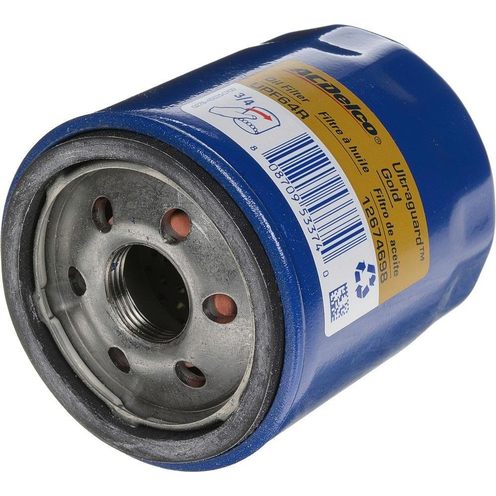 Acdelco Ultraguard Engine Oil Filter Fits 2016 2018 Chevrolet