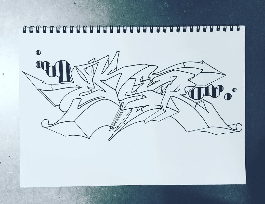 Blackbook Graffiti Wildstyle