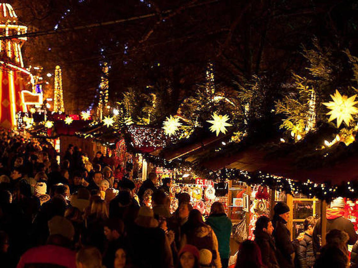 Christmas markets and fairs in london winter wonderland