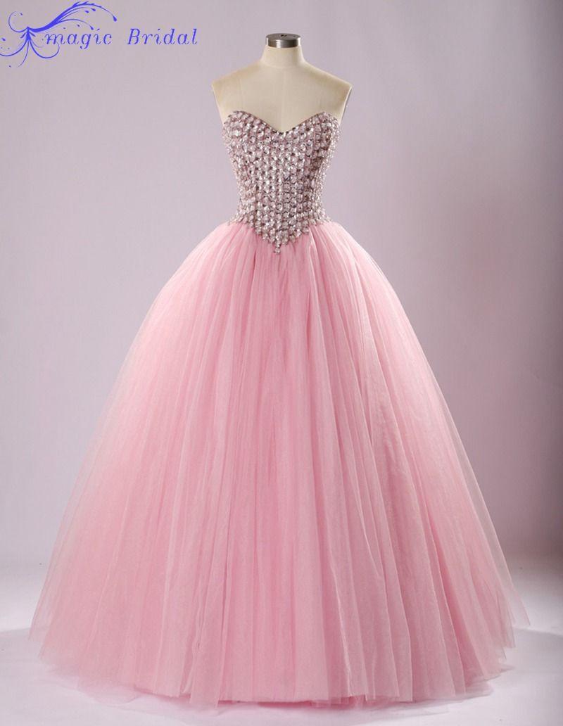 vestidos de quinceañera en rosado pastel - Buscar con Google | moda ...