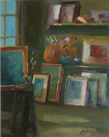 Liam Treacy  Studio Interior  20th century