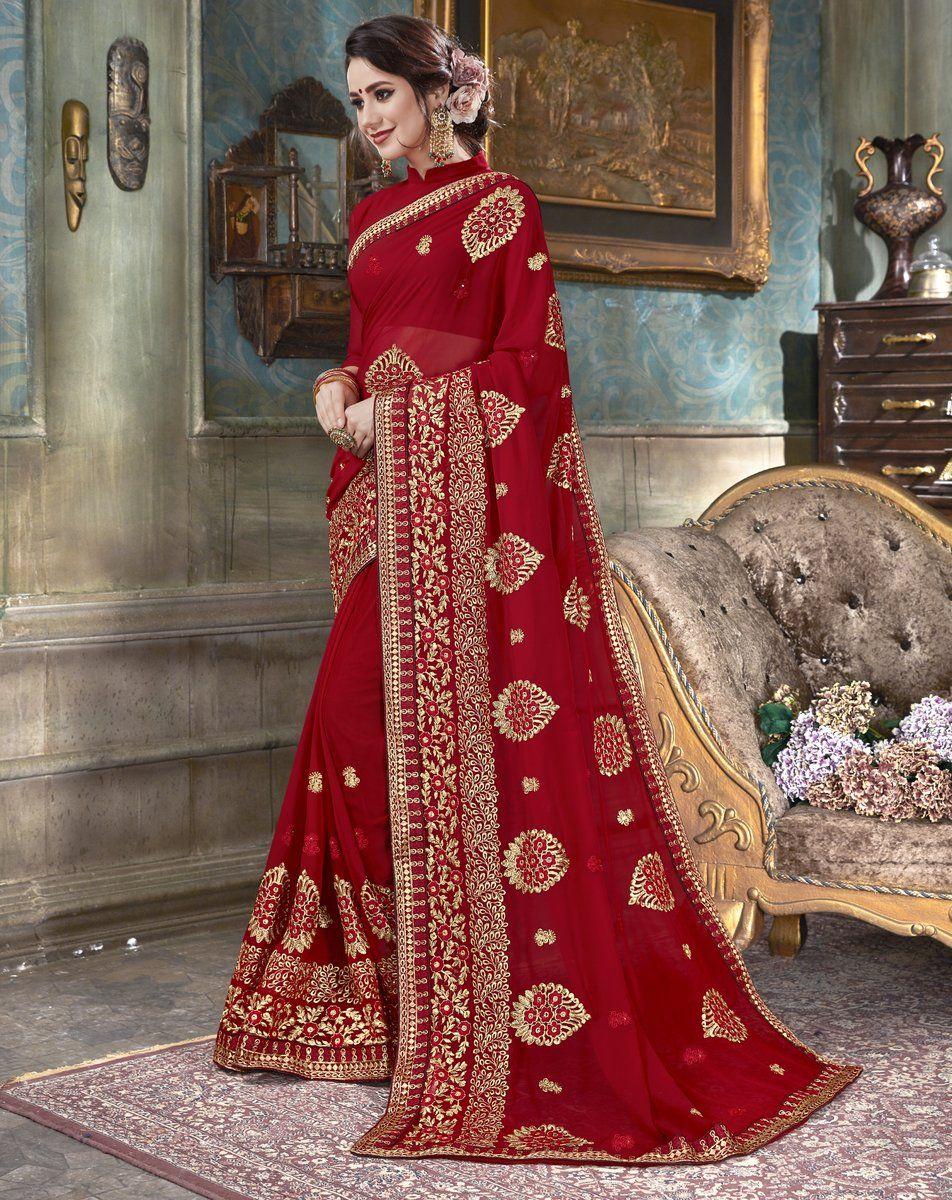3aef7926ac Product ID: 6508-RBP15247 Work Type: Zari, Thread Embroidery & Stones Work