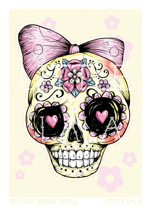 Sugar Skull Sugar Skull Tattoos Skull Illustration Sugar Skull Art