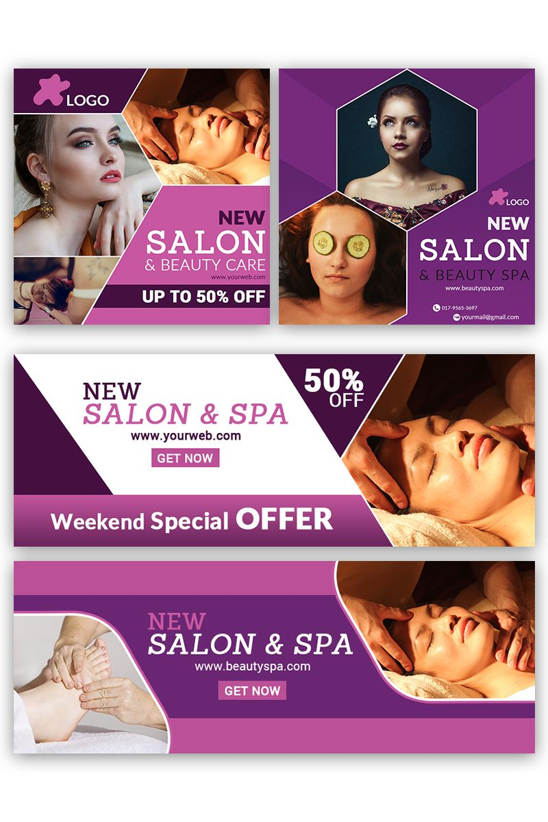 Beauty New Salon Social Media 84022 Beauty Salon Posters Social Media Design Graphics Social Media Design