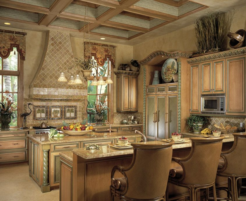 Luxury river estate by simmons building custom home for Luxury elegant kitchen designs