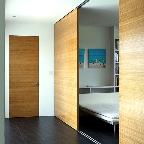 Attrayant Bamboo Veneer Sliding Doors Bamboo Wall, Wooden Walls, Sliding Doors, Barn  Wood,