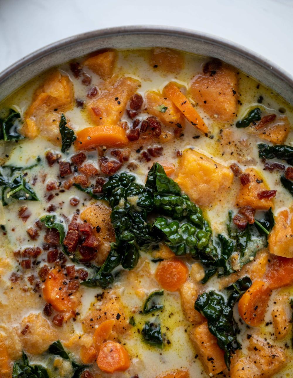 Sweet Potato Chowder - Sweet Potato Chowder Recipe