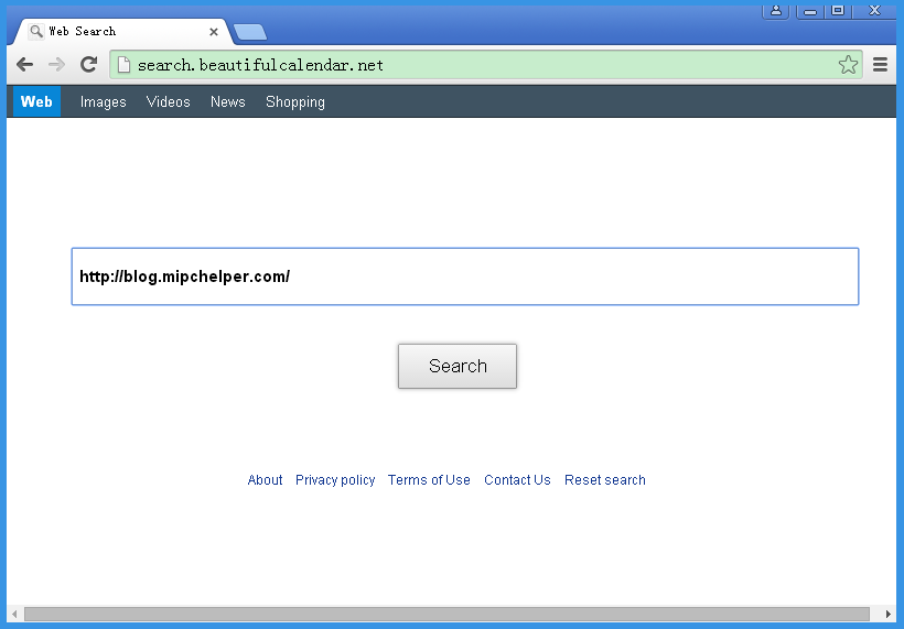 The best way to remove Search.beautifulcalendar.net from Google Chrome, Firefox and IE is to download removal tools. However, many users do not realize the infection of this threat as they treat it as a regular search site. In fact, this is a browser hijacker which not only hijacks the homepage and search engine but also want to collect personal information stored on the infected computer.