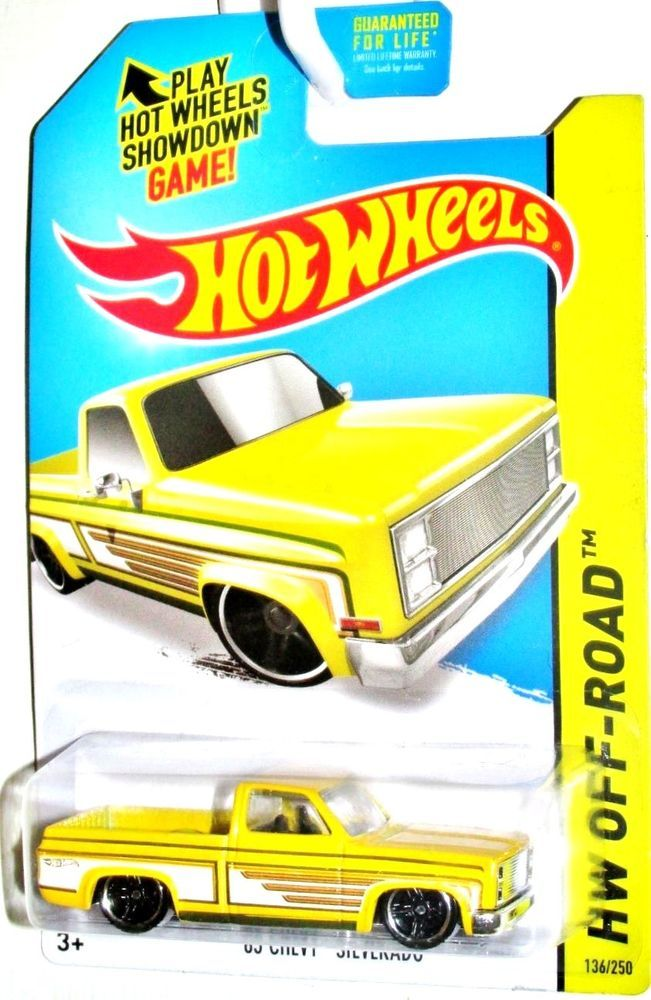 Hot Wheels 2014 Kmart Excl HW OFF-ROAD /'83 Chevy Silverado Green 136//250 B26