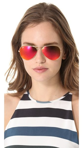 Rb3025 Classic Aviator Mirrored Matte Sunglasses Aviator Classic