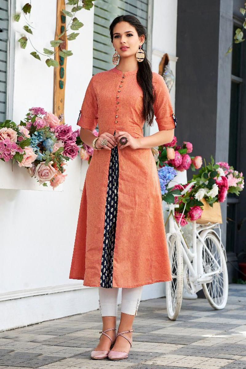 Office Wear Officewear Simple Kurti Designs Long Kurti Designs Indian Kurti Designs