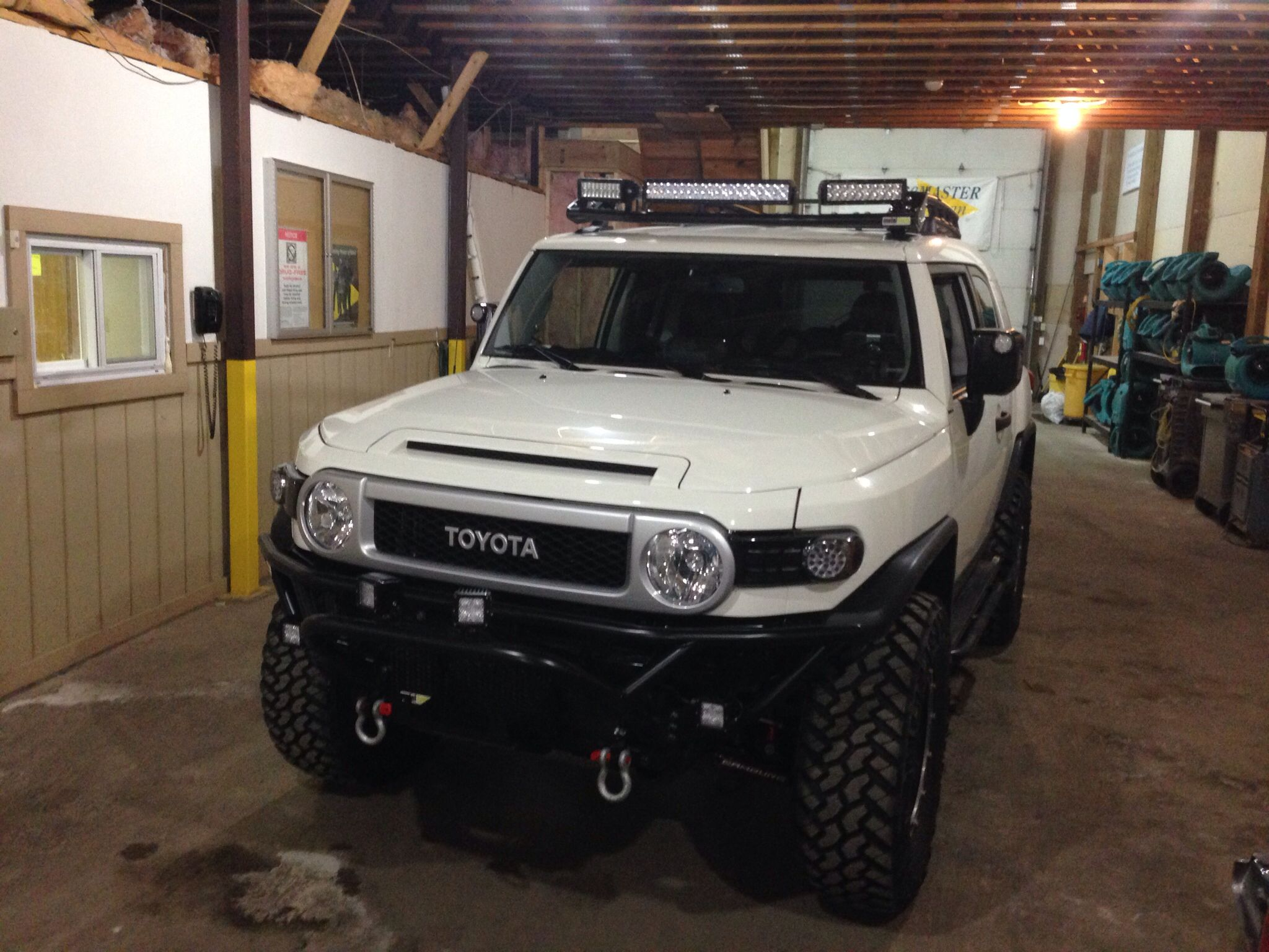 Fj cruiser with metal tech bumper and light bar vehicles pinterest fj cruiser with metal tech bumper and light bar mozeypictures Choice Image