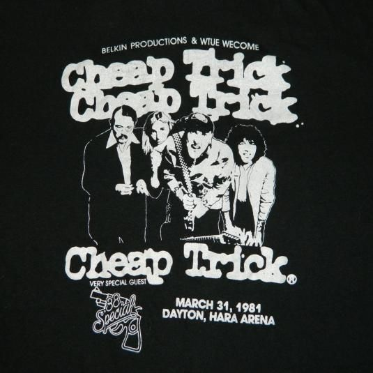 Cheap Trick with 38 Special. | Vintage Rock T-Shirts | Pinterest ...