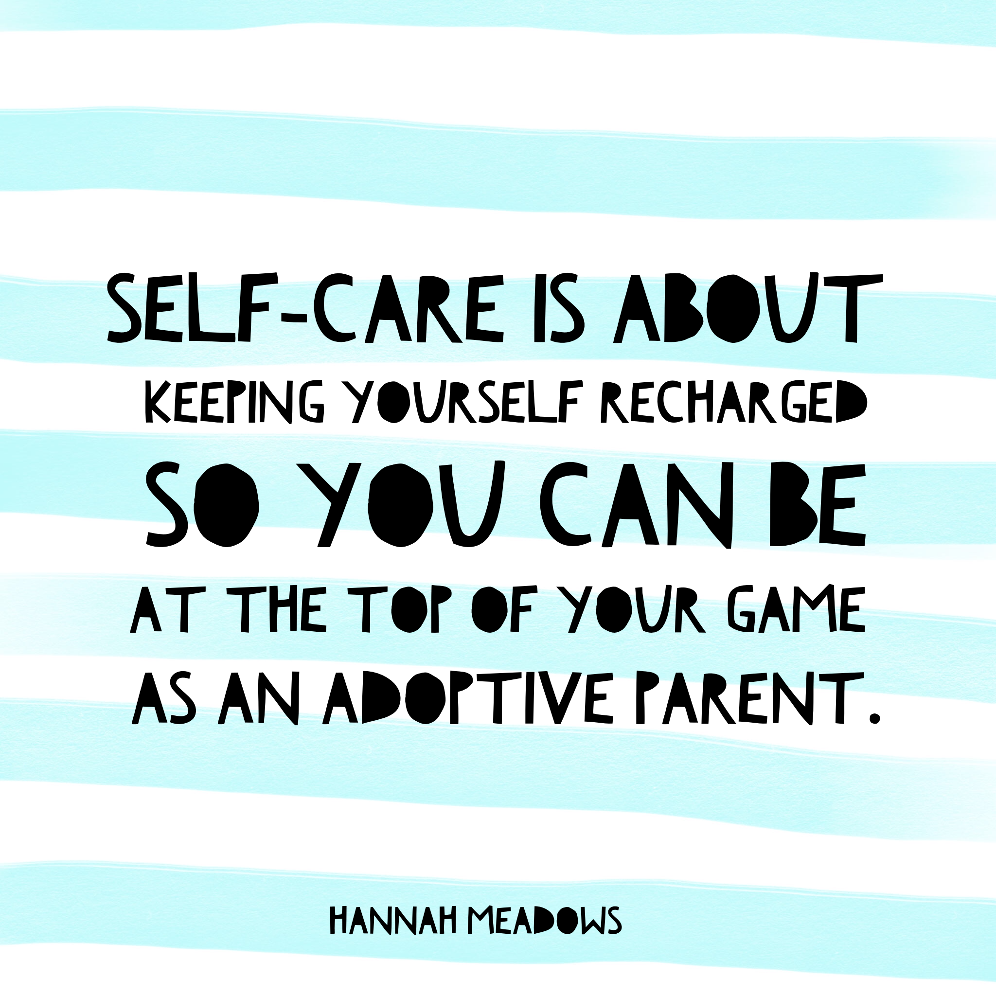 Self-care isn't selfish. How are you recharging yourself this week? https://hannahmeadows.com/2015/04/26/10-easy-ways-to-practise-self-care/ #selfcare