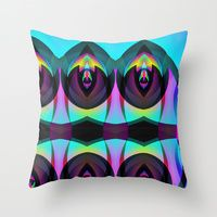 Throw Pillow featuring BLACK AND BRIGHT by ARTDROID $20.00 - $39.00