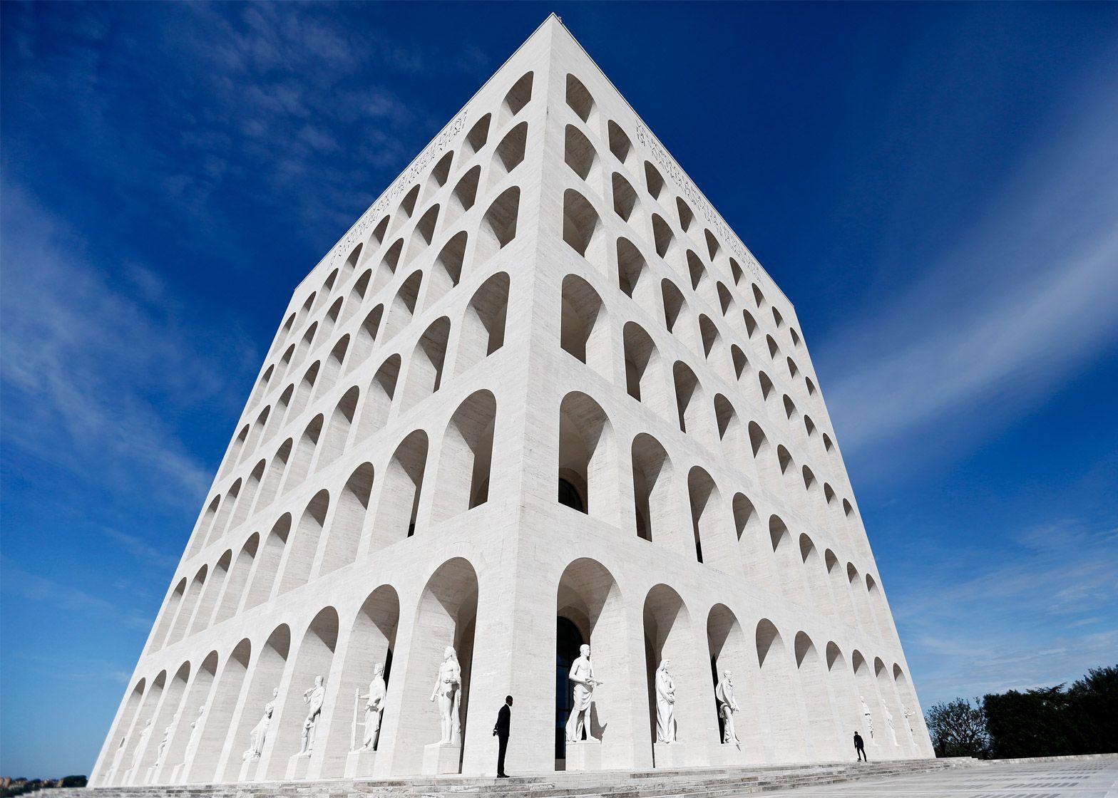Italian Fashion House Fendi Has Moved Into Its New Headquarters At Rome S Palazzo Della Civilta Italiana Fascist Architecture Italian Architecture Architecture