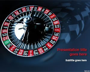 free casino roulette powerpoint template is another free, Modern powerpoint