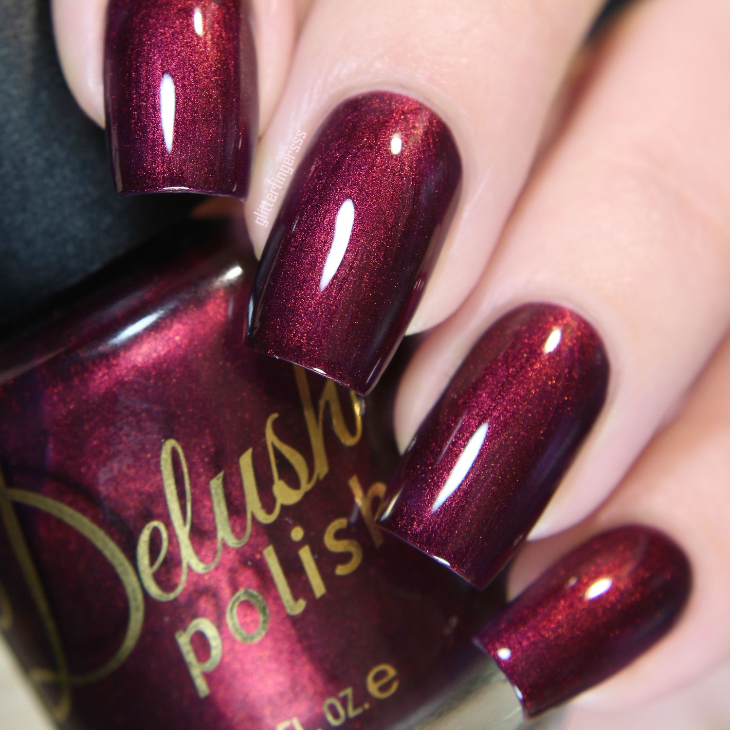 Poisoned Vine | Red nail polish, Red nails and Knight