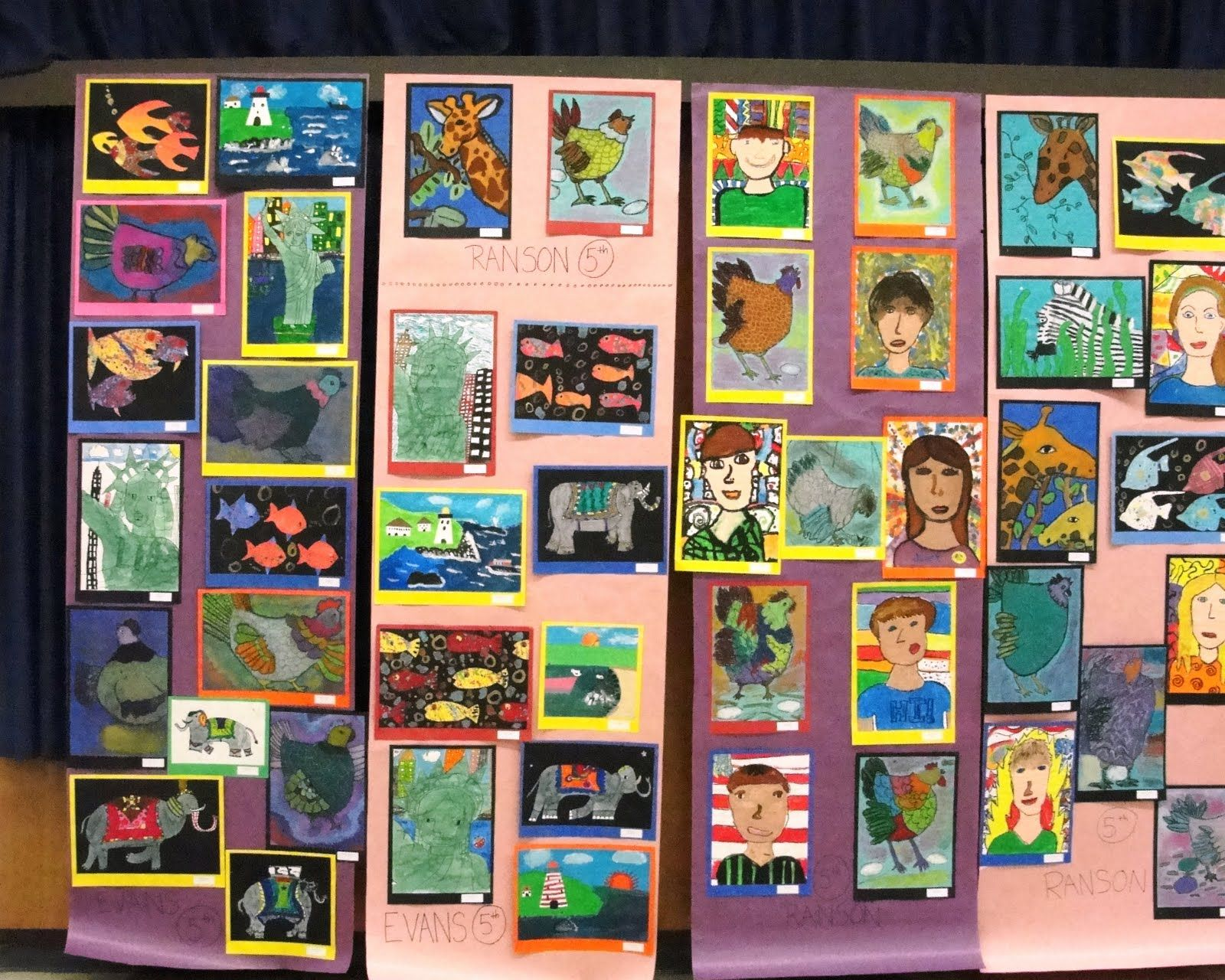 Deep Space Sparkle Elementary School Art Show