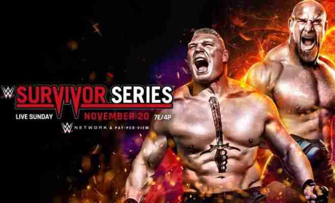 Wwe Survivor Series 2016 Results Live Updates Brock Lesnar Vs Goldberg And More Wwe Survivor Series Survivor Series Series