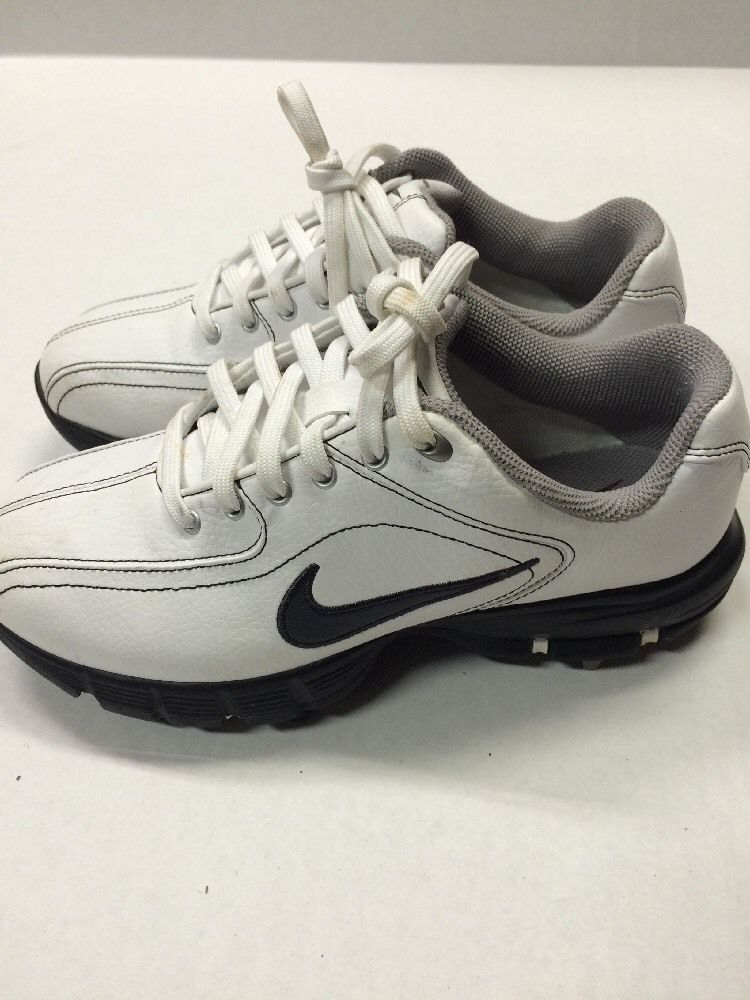 241ad9335 Nike Golf Shoes 2 Youth White Traction at Contact Power Channel ...