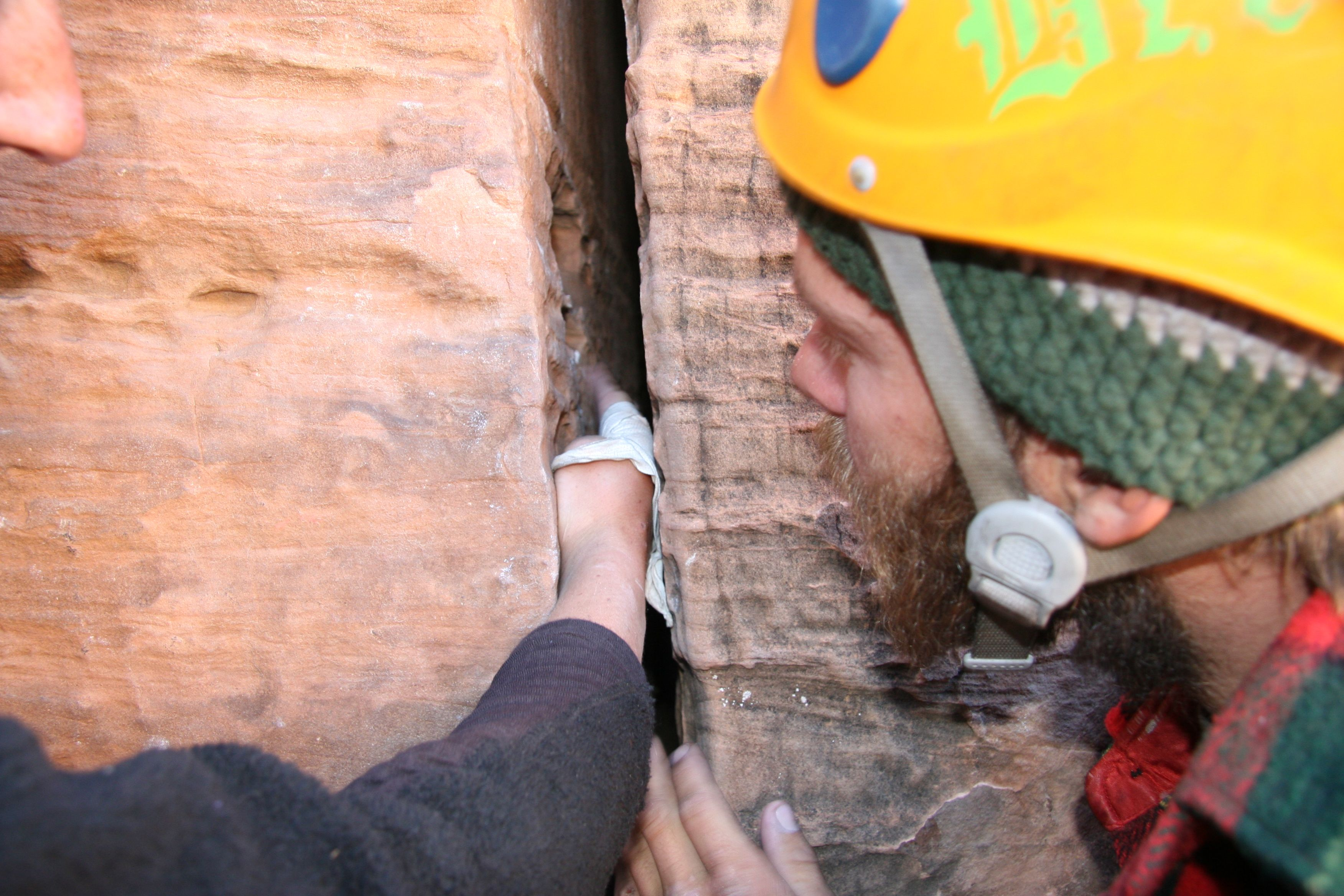 Crack Climbing Instruction With Red River Adventures Amga Certified