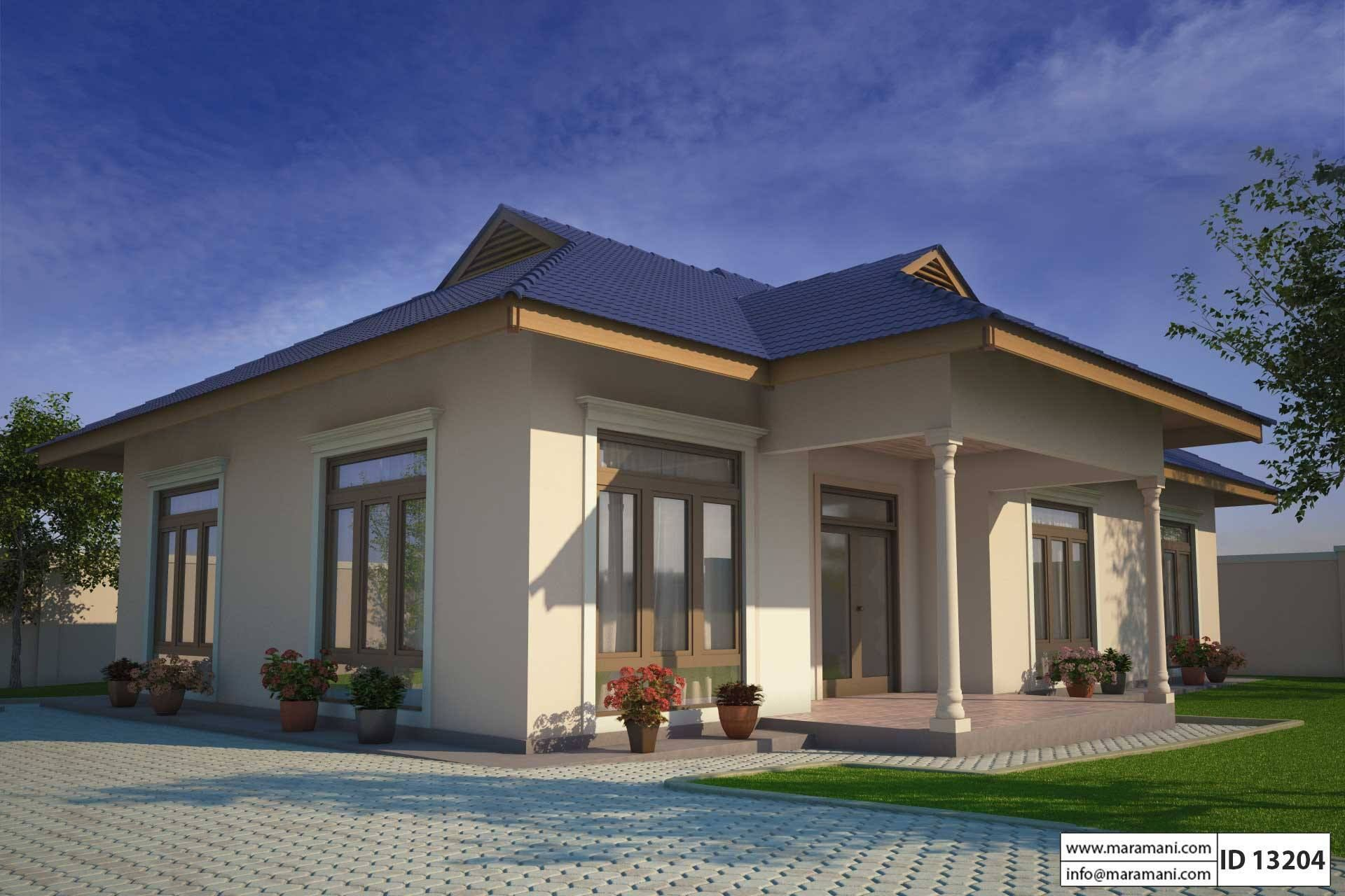 Small Three Bedroom House Plan Id 13204 Floor Plans By Maramani Three Bedroom House Plan Bedroom House Plans Architectural House Plans