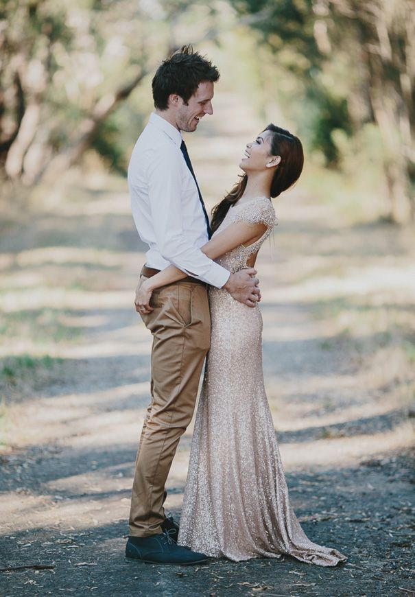 A surprise backyard wedding (for the guests) - relaxed ...