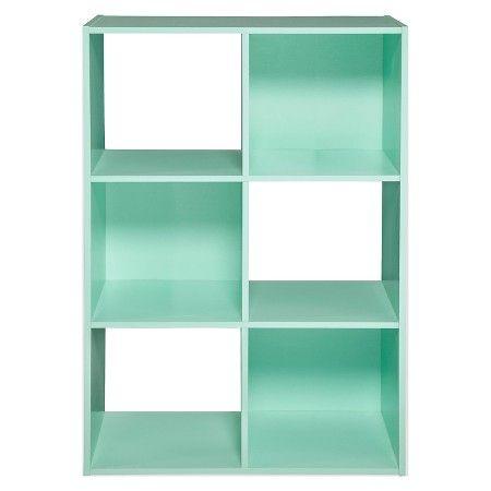 6-Cube Organizer Shelf White 11