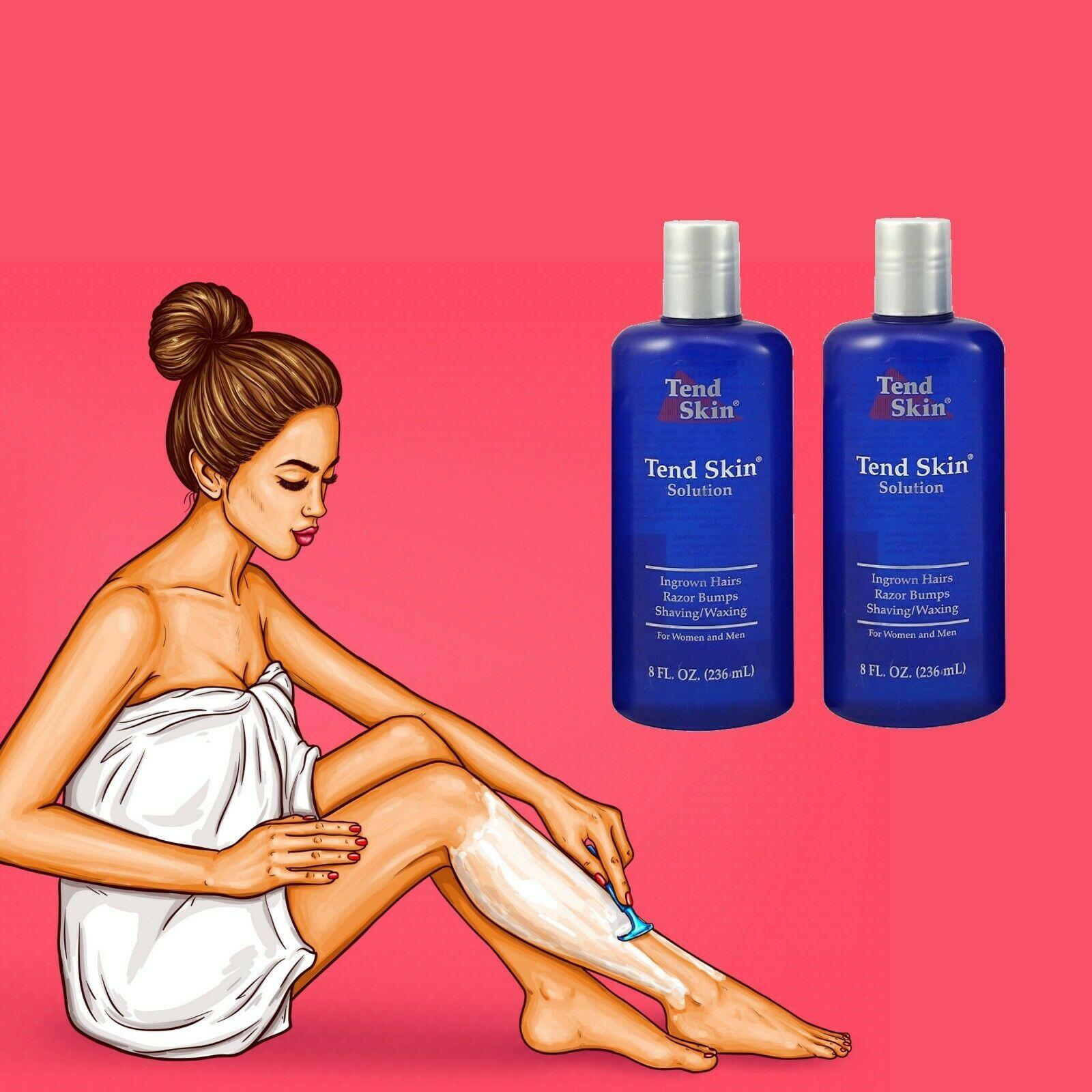 Tend Skin Solution 2 X 8oz Liquid Ingrown Hair Razor Bumps Burns Exp03 2021 609722353854 Ebay Tend Skin Skin Solutions Ingrown Hair
