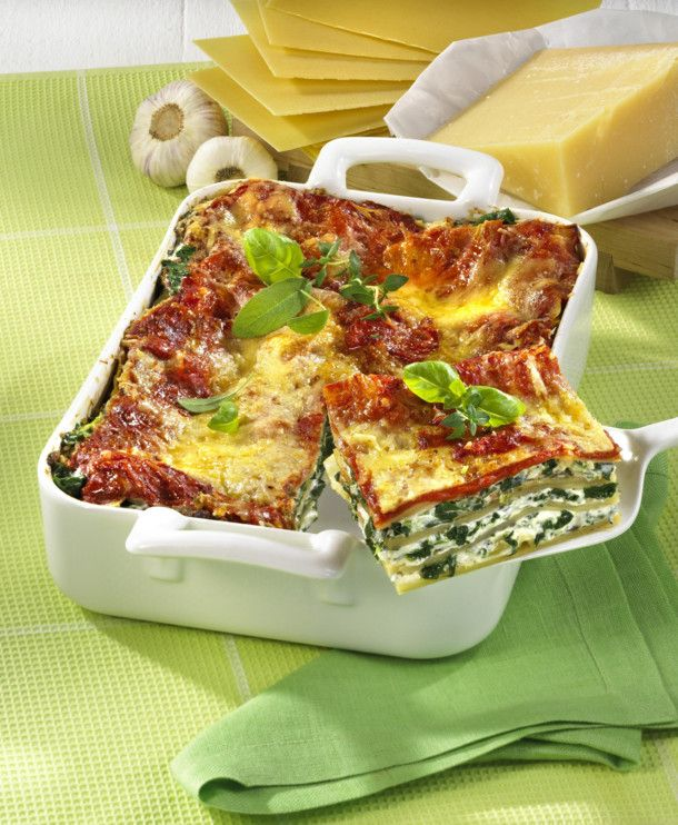 vegetarische lasagne rezept kochen pinterest vegetarische lasagne lasagne und. Black Bedroom Furniture Sets. Home Design Ideas