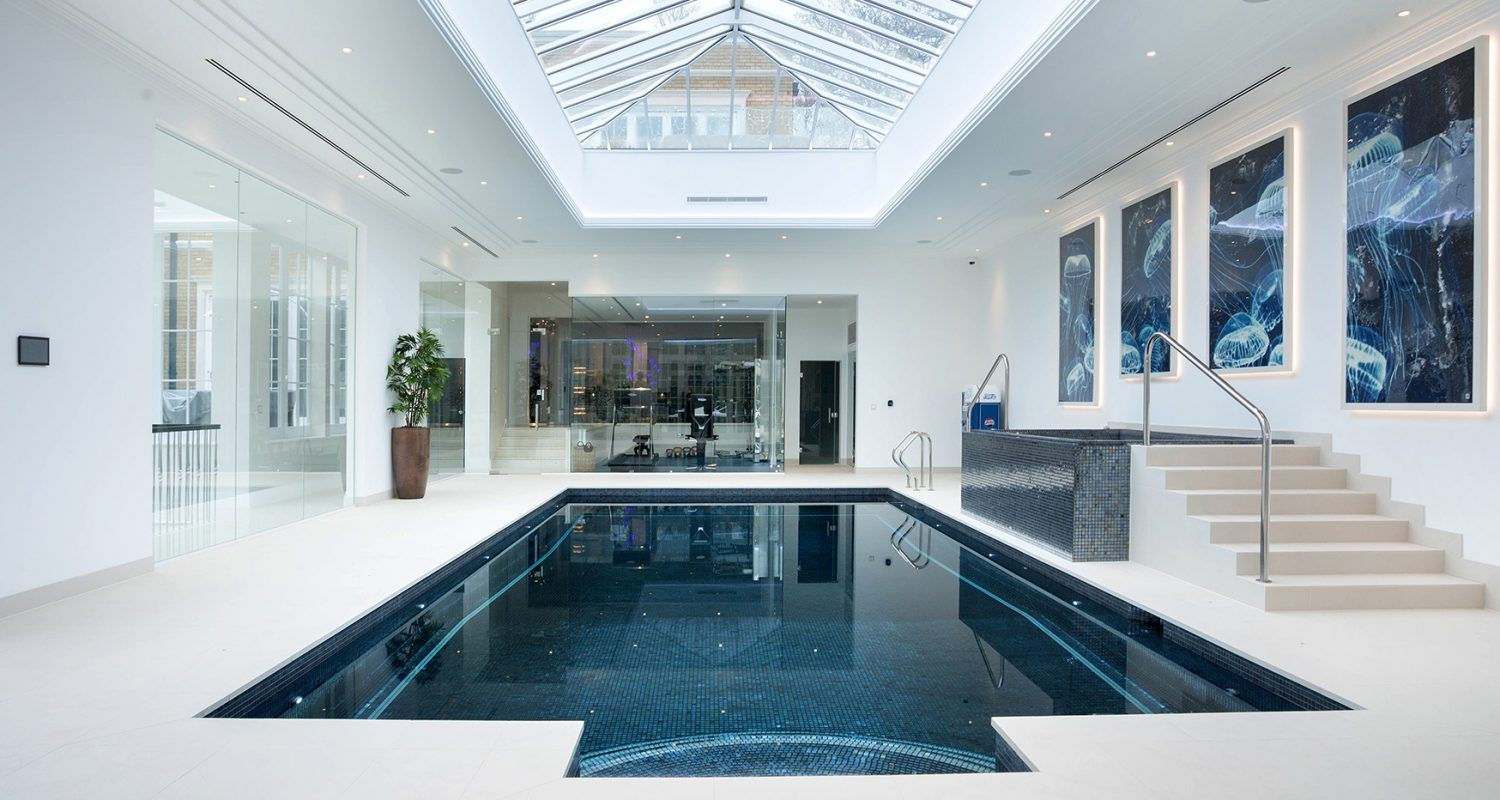 Indoor Swimming Pool Designs Beauteous Luxury Indoor Swimming Pool Design & Installation Company Based In