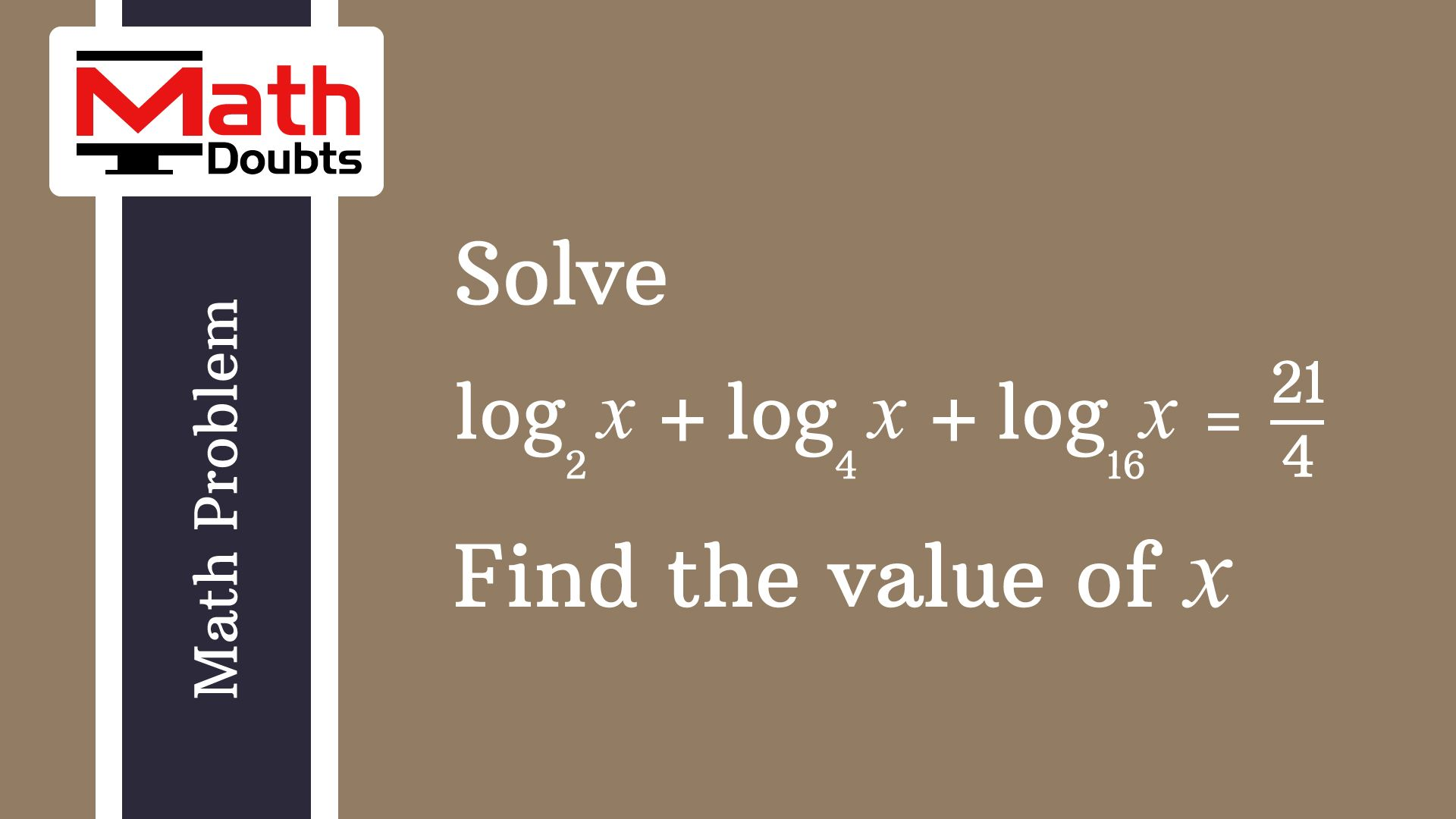 Solution of math problem and step by step procedure to solve the ...