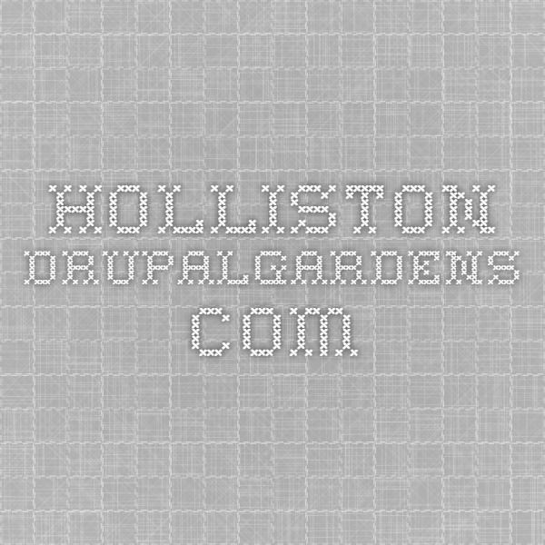 holliston.drupalgardens.com