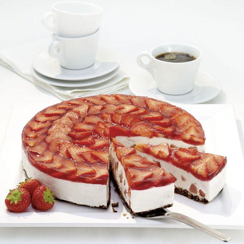 Erdbeer Knusper Torte Rezept Torten Rezepte Rezepte Backrezepte