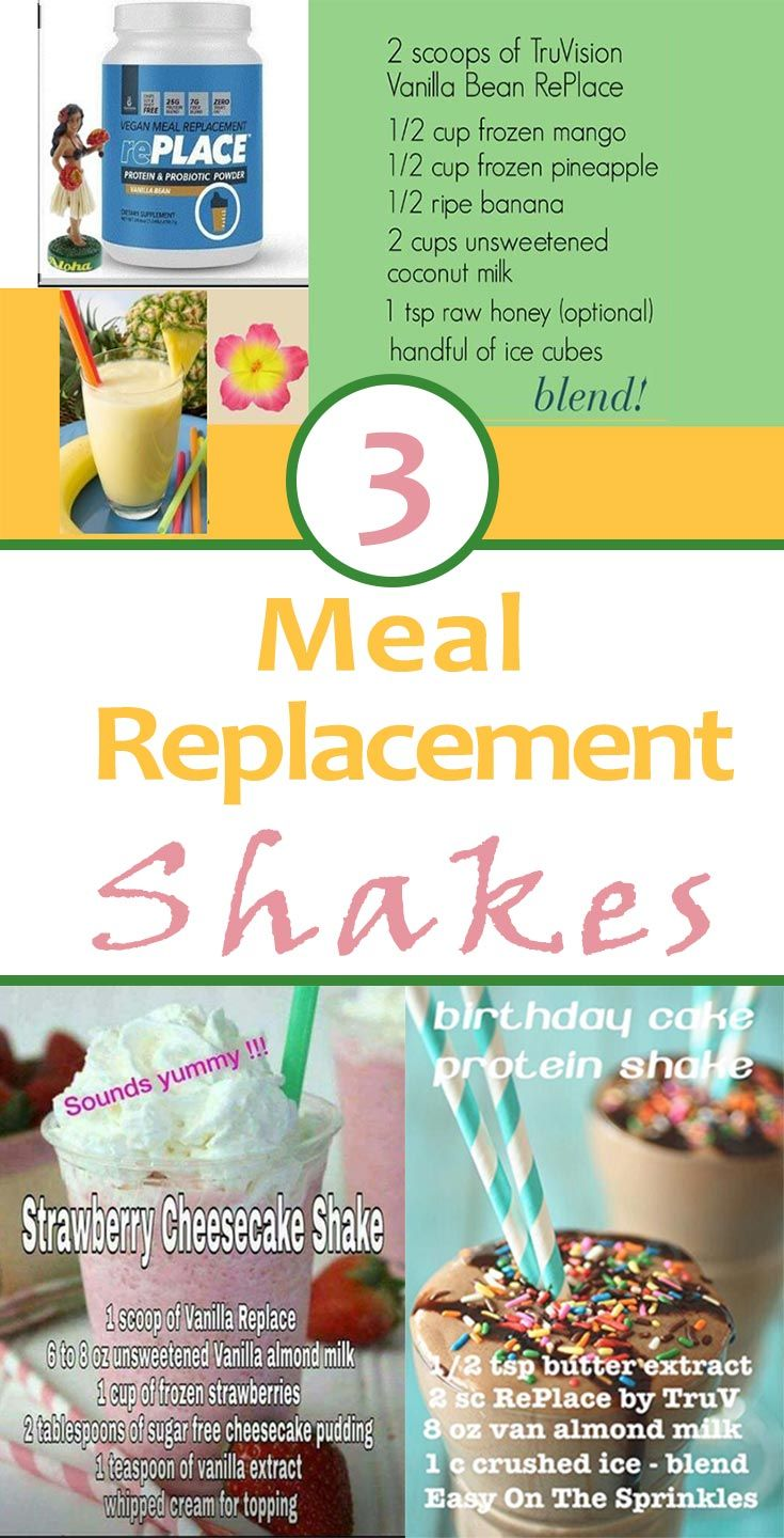 Meal Replacement Protein Shake Recipes For Weight Loss Healthy