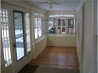 changing open porch to closed in porch - google search | home ... - Small Enclosed Patio Ideas