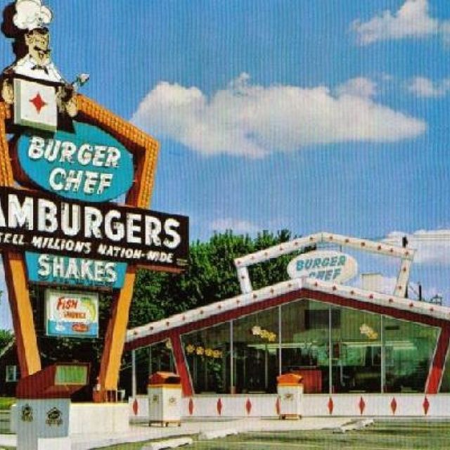 burger chef diners drive ins and dives pinterest burgers