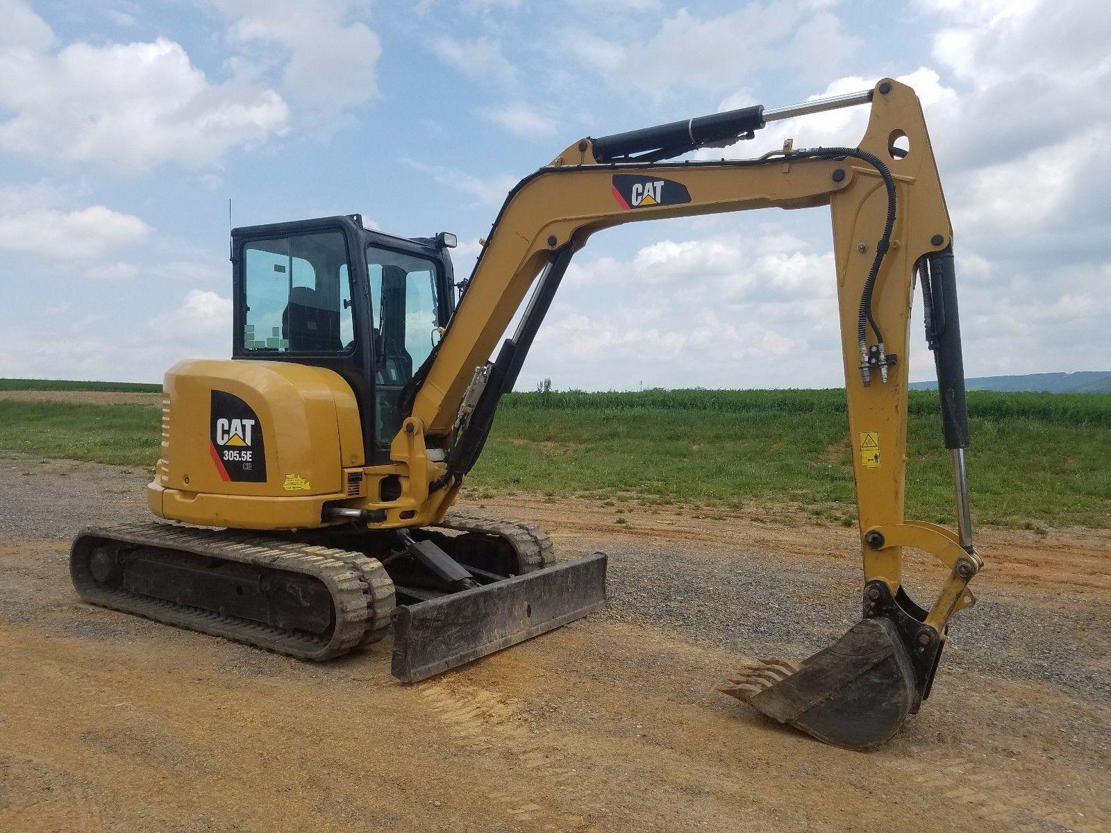 2012 Caterpillar 305.5E CR Mini Excavator Track Hoe