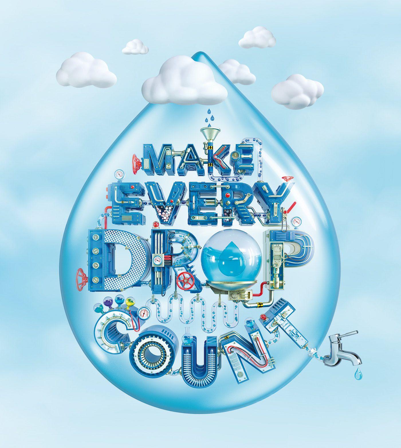 Singapore World Water Day Key Visual On Behance