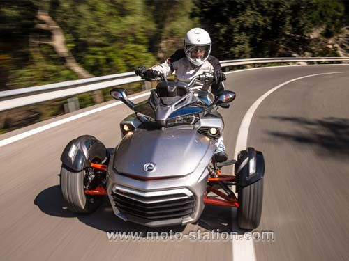 can am spyder f3s tricycle hot rod can am spyder pinterest motos triciclo y autos. Black Bedroom Furniture Sets. Home Design Ideas