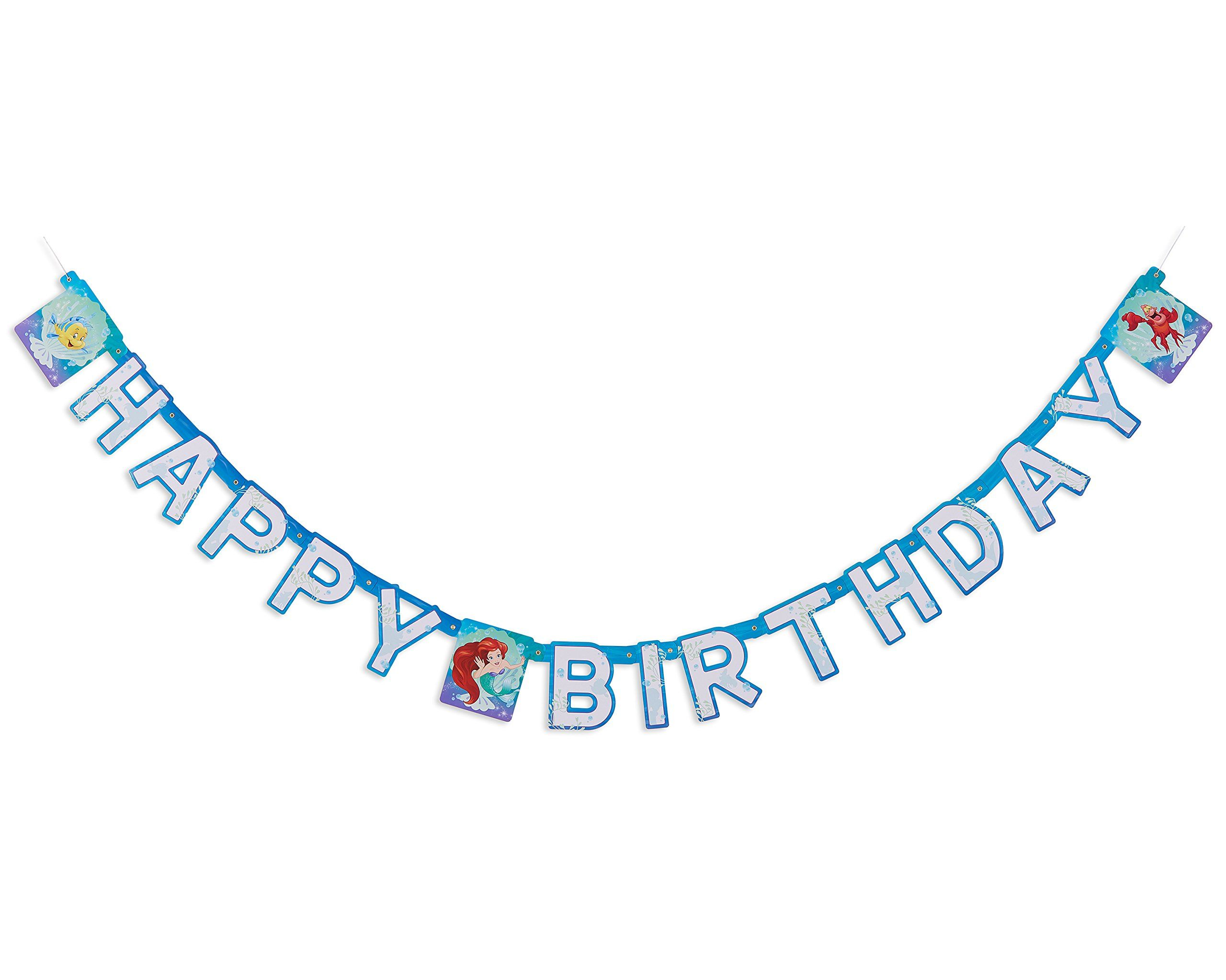American Greetings Disney Ariel Party Supplies Paper Birthday