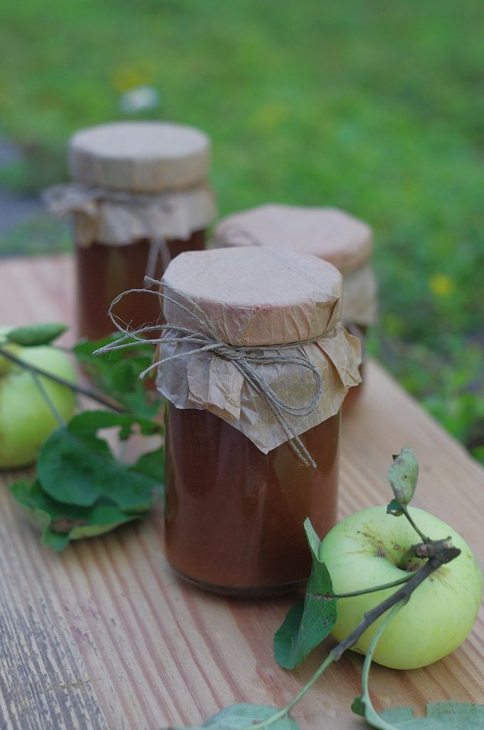 konfitura z jabłek z winem candied apple wine