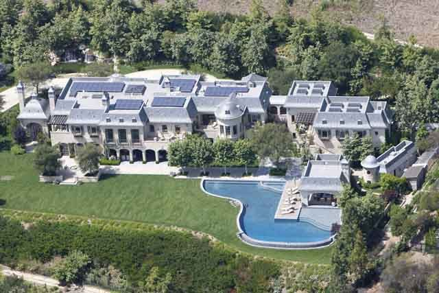 The most expensive celebrity mansions in hollywood for Biggest house in california