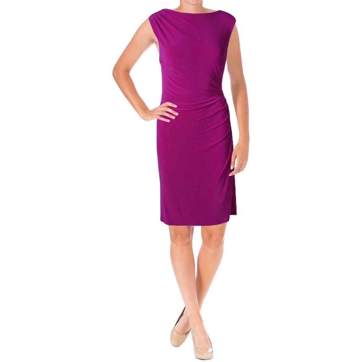 Moderno Vestidos De Cóctel De Color Púrpura Ideas Ornamento ...
