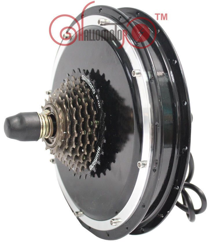 New Style Threaded 48v 1500w Brushless Gearless Rear Hub Motor For Ebike Electric Bicycle Electric Bicycle Kit Electric Bike Bicycles