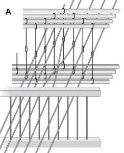 Peggy's Weaving Tips > How to fix crossed warp threads