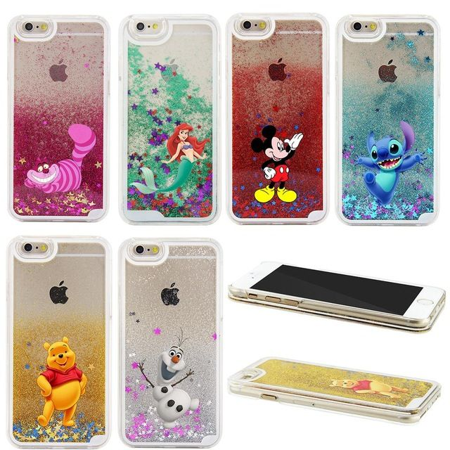 coque iphone 7 liquide disney