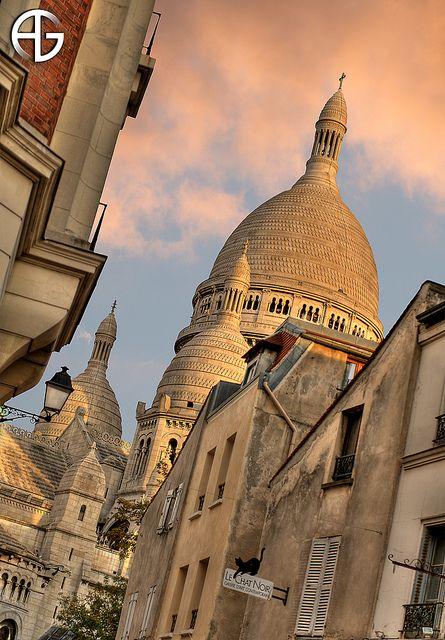 Sacré-cœur, Montmartre, Paris, France