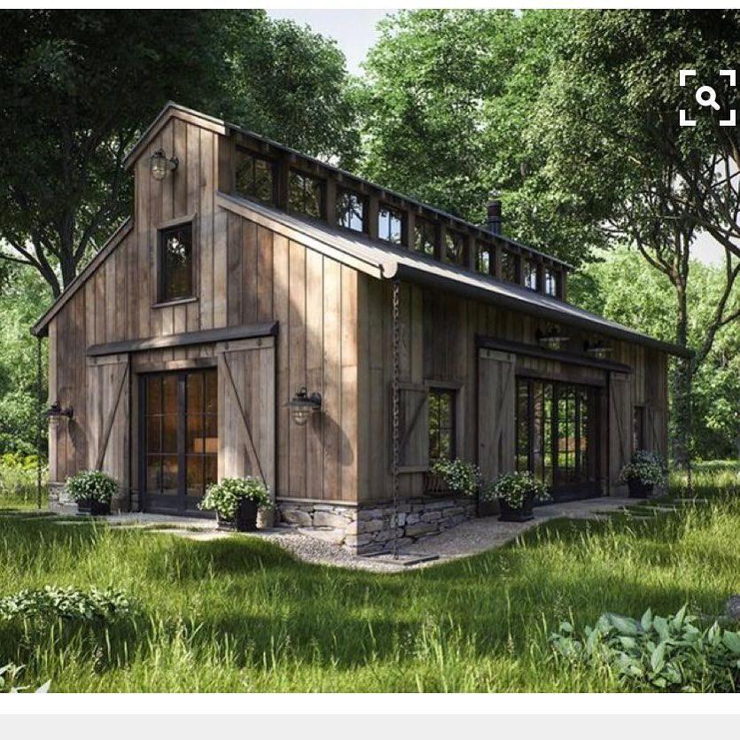Three Homes With A Contemporary Twist On Rustic Design: BEAST Metal Building: Barndominium Floor Plans And Design